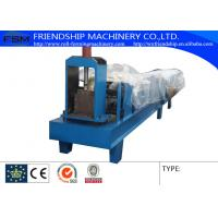 Hydraulic Cutting Type Eave Gutter Roll Forming Machine Use 0.5-0.8mm Thickness Color Steel Manufactures