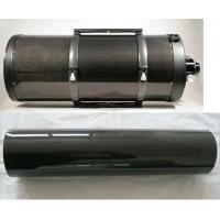 big large diameter 500mm  3K twill glossy carbon fiber tube pople pipe cfrp for telescope tube decorate tube Manufactures