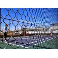 PaddleTennis Court Wire Fencing  , Galvanized After Weaving , 16 Gauge , 1 Inch Manufactures