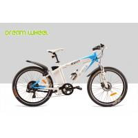 China Aluminum Electric Bicycle 350W MTB Style Mountain Bikes 25Km - 32Km / H wholesale