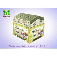 Suppermarket Retail Pallet Displays / Promotion Corrugated Paper Pallets Easy Assembling Manufactures