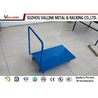 Buy cheap Disassemble Blue Steel Platform Trolley Medium Duty 730*450*900mm from wholesalers