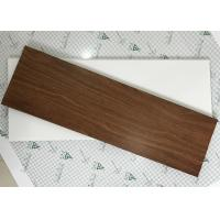China Exterior Soffit Metal Ceiling System C - Shaped Wood Grain Suspended Ceiling Tiles wholesale