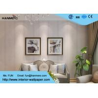 China Removable embossed PVC European Style Wallpaper With Leaf Pattern wholesale