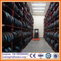 Stacking steel truck tire rack storage system Manufactures