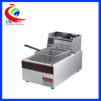 China Automatic KFC Commercial Electric Tabletop Deep Fryer Stainless Steel One Tank on sale