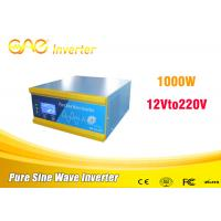 Dc to ac 1000W off grid solar power inverter 12v input 110v output solar system Manufactures