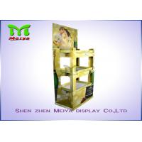 Eye-catching Corrugated Paper Wine Racks Customized Cardboard Display Stand for Alcohol Manufactures