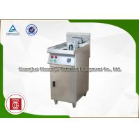 China Single Tank Commercial Electric Deep Fryer On Stand Oil Water Seperate on sale