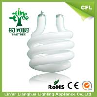 China Small T3 Tricolor Powder CFL Glass Tube For Spiral Energy Saving Light Bulbs wholesale
