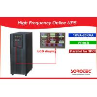 High Flexible Extendable 1KVA - 20KVA High Frequency Online UPS Manufactures