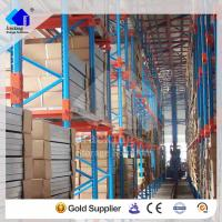 China Warehouse storage heavy duty and  powder coating crossbeam  pallet rack system wholesale