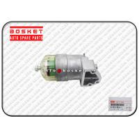 Buy cheap ISUZU 4HK1 8981438261 8-98143826-1 Isuzu Engine Parts Fuel Filter Assembly from wholesalers