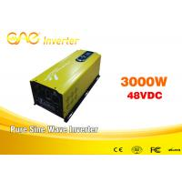 Single Phase Dc To Ac Pure Sine Wave 3000 Watt Power Inverter With Charger Manufactures