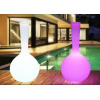 China Decoration Home Garden Led Plant Pots Remote Control Multi - Color Changing on sale