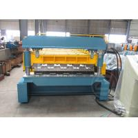 China Coil Width 1700mm Anti - Rust Floor Deck Forming Machine Tensile Strength 720Mpa wholesale