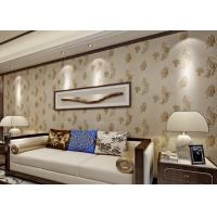 China Bronzing Modern Removable Wallpaper with Pottery Natural Crack wholesale
