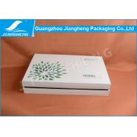 White Cardboard Professional Printing Paper Packing Box For Cosmetic Manufactures