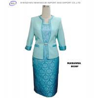 ladies fashion clothes dress suits for church Manufactures