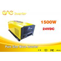 China Dc to ac off grid pure sine wave inverter 1000w 1500w 2000w inverter 24vdc to 220vac wholesale
