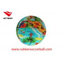 China Custom Printing Official Colorful Volleyball Ball Size 5 /  TPU leather volleyball on sale