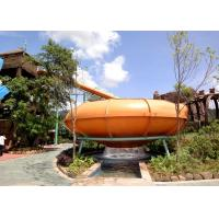 China Body Space Bowl Water Slide For Entainment , Action Park Water Slide for Children wholesale