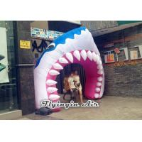 Buy cheap Full Printing Inflatable Entrance, Inflatable Shark Arch for Events from wholesalers