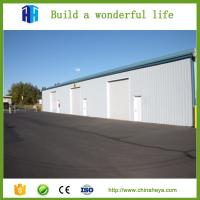 China Structural steel fabrication hangar manufacturers industrial plant house on sale