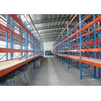 China AS4084 Industrial Pallet Racks , Wire Mesh Decking Q235B Cold Steel Rack Storage on sale