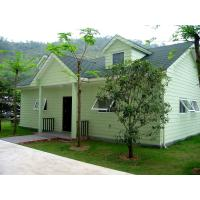 China modern house designs light steel structure villa and prefabricated house on sale