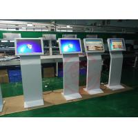 High brightness touch screen monitor kiosk 65 inch , lcd Advertising Kiosk Multi signal function DDW-AD6501SNT Manufactures