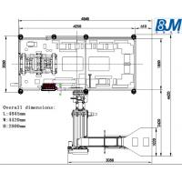 Buy cheap Automatic Linear Auto PET Blow Molding Machine 6,000 bottles per hour from wholesalers