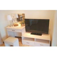 China Bathroom Wooden Tv Cabinets for flat screens , flat screen tv stand on sale