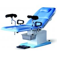 China Double Control Electric Operating Table , Adjustable Medical Delivery Table With Dirty Pot on sale