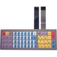 Flexible Keyboard Metal Dome Tactile Membrane Switch with SGS / Rohs Certificates Manufactures