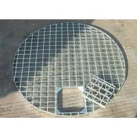 China Mild Steel Driveway Drain Grate Covers , Durable Metal Driveway Drainage Grates on sale