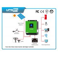 China 3000VA/2400W Off Grid DC to AC Solar Inverter with 60A MPPT solar charger wholesale