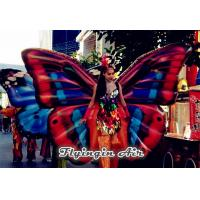 Advertising Inflatable Butterfly Wings Costumes for Activity and Adults Manufactures