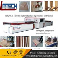 woodworking pvc vacuum membrane press machine Manufactures