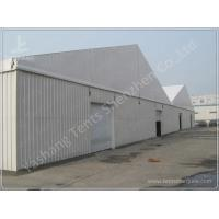 Corrugated Sheet Wall Marquee Tent , Semi-permanent Car Parking Tent Marquee Manufactures