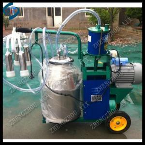 China single barrel piston cow milking machine on sale