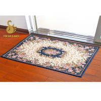 Non-slip 3D Digital recycled Indoor Area Rugs with Standard PVC Dots