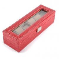 China Proffesional Watches Boxes Mix Color Can be ok OEM ODM PU Leather Watch Box on sale