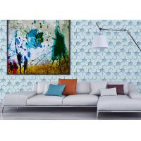 PVC 3d effect wallpaper TV background Contemporary Wall Coverings Manufactures