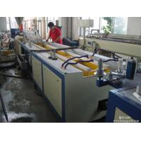 China PVC WPC Profile Wide Door Frame Making Machine Plastic Profile Extrusion Machine on sale