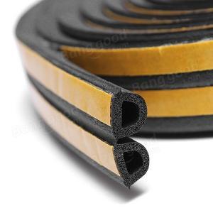sponge EPDM foam rubber sealing strip self adhesive backing car door window trim seals Manufactures