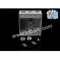 China Weatherproof Electrical Boxes Two Gang Outlet Branch Circuit Wiring wholesale