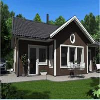 Fast Construction EPS Foam Cement Decorative Wall Panels House Over Water Bungalow Manufactures