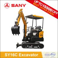 SANY SY16C 1.6 ton Hydraulic Garden Digging Mini Excavator Bagger Machine for Sale Manufactures