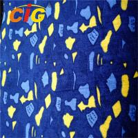 Colorful Printing Bus Seats Fabric With Much Different Colors And Weight Manufactures